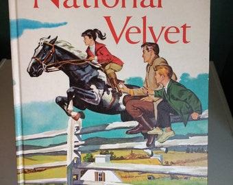 National Velvet 1961, Antique Book, Ephemera