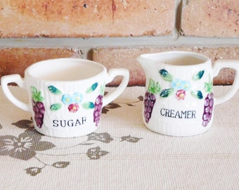 Sugar Bowls and Creamers