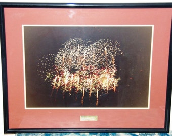 Skyshow 1991 Adelaide professionally framed artistic photographic print 60cm x 45cm