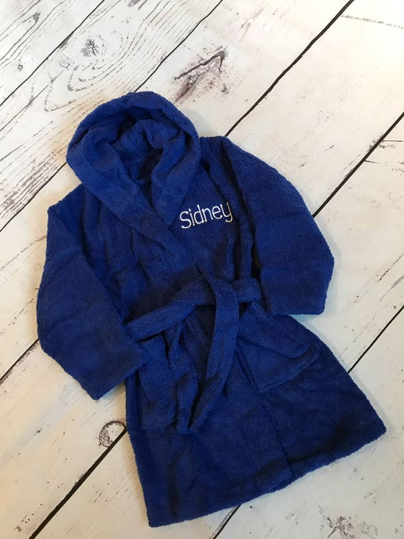 Personalized Terry Hooded bathrobes for Kids Children  bf1f7fa34