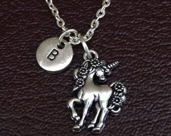 Unicorn Necklace, Unicorn Charm, Unicorn Pendant, Unicorn Jewelry, Unicorn Gift, Unicorn Girls, Unicorn Mom, Unicorn Sister,Unicorn Daughter