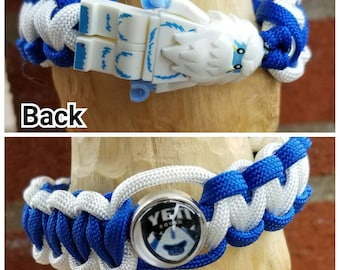 Yeti brick figure bracelet