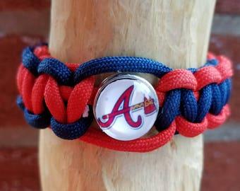 Braves Paracord bracelet