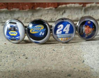 Lg. NASCAR hair clip #24 your choice of 4 images