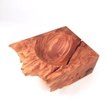 Natural Edge Maple Burl Bowl - Youngwoodworker