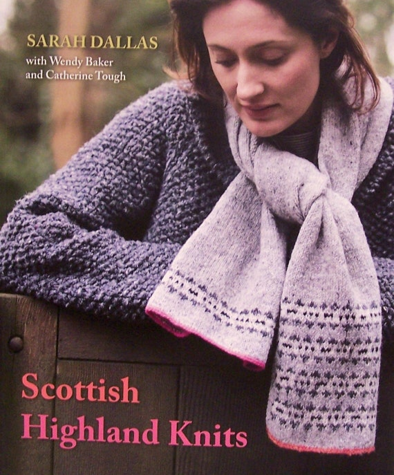 Knitting Patterns Scottish Highland Knits Cable Wrap Etsy