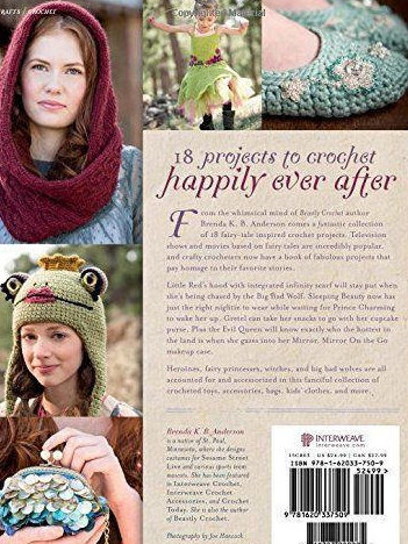 Crochet Ever After 18 Fairy Tales Projects Thumbelina Etsy