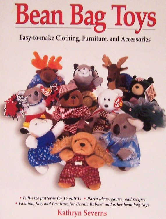 Astounding Bean Bag Toys Easy To Make Clothing Furniture Accessories Patterns For 16 Outfits Party Ideas Games Recipes For Beanie Babies Inzonedesignstudio Interior Chair Design Inzonedesignstudiocom