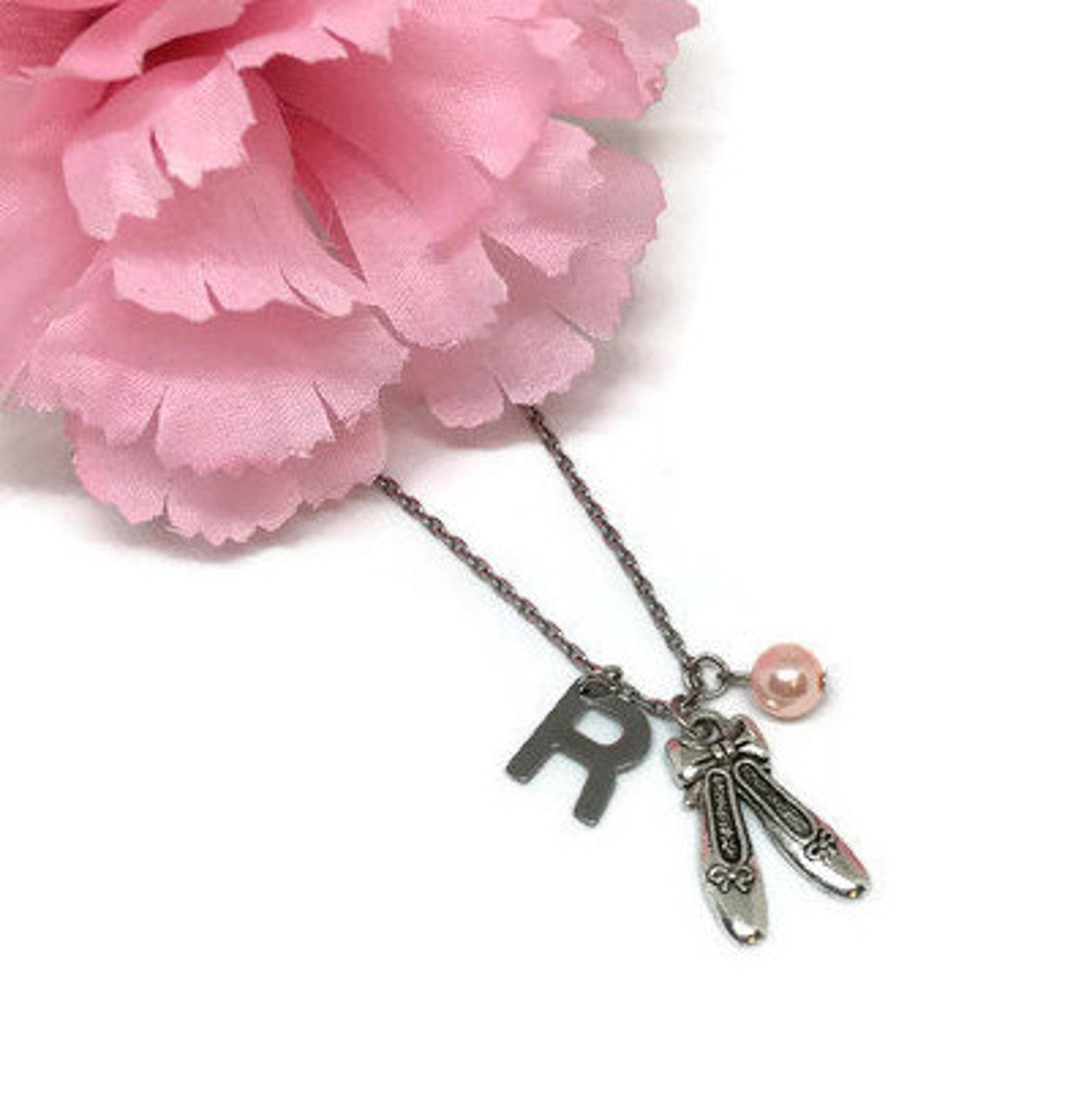 ballet necklace ballerina necklace ballerina jewelry dance jewelry dance necklace ballet gifts dancer charm dance lover gift bal