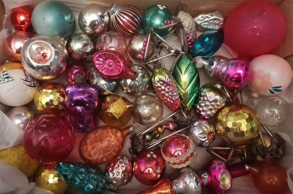 Russia Christmas Ornaments.Over 1000 Soviet Ussr Russia Christmas Tree Ornaments To Choose From Decoration Propoganda Old Vintage Antique Rare Exclusive Toys Glass