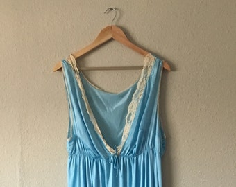 Long Baby Blue Nightgown