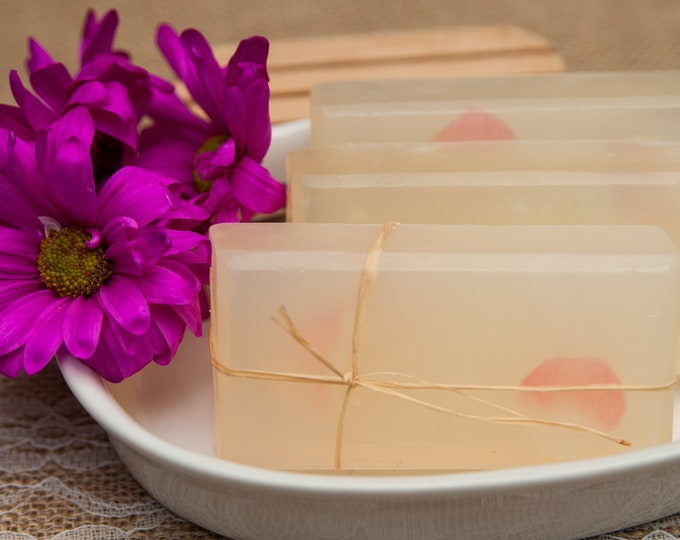 Magnolia - Moisturizing Glycerin Soap - A Sweet and Sassy Floral Soap