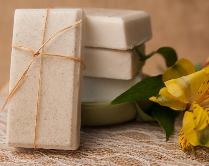 Gardenia Lily Goat's Milk Soap - Glycerin Soap - a True Floral Delight