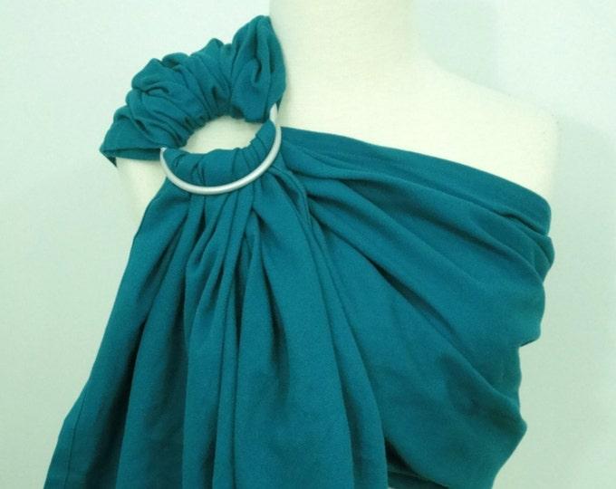 Woven ring sling - 100% organic cotton- Emerald
