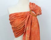 Ring sling wrap conversio...