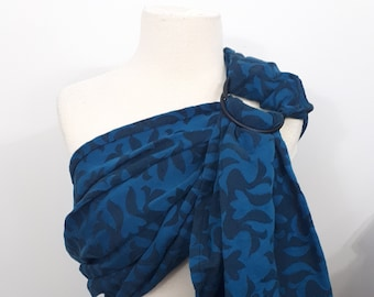 Dahlia wrap ring sling - wrap conversion baby carrier