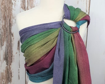 Little Frog Tourmaline ring sling - wrap conversion baby carrier