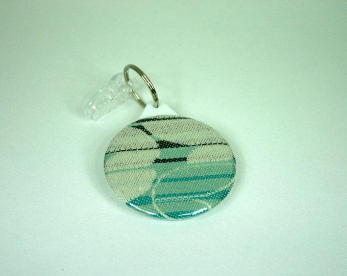 Babywearing mirror / Tekhni Laurel Kyanite wrap / pocket mirror / key ring