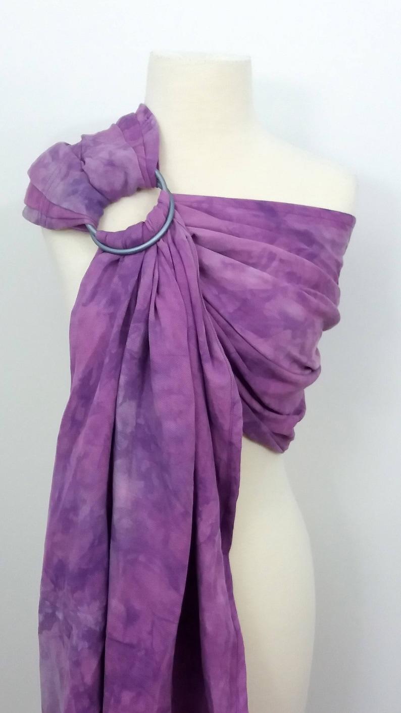 Hybrid shoulder style ring sling wrap conversion ring sling image 0