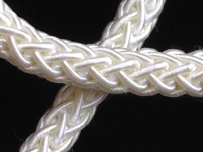 Vintage Looped Circle Silver Trim ½ Inch Wide Yardage