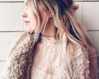 Goldie Choker || Gold Filled