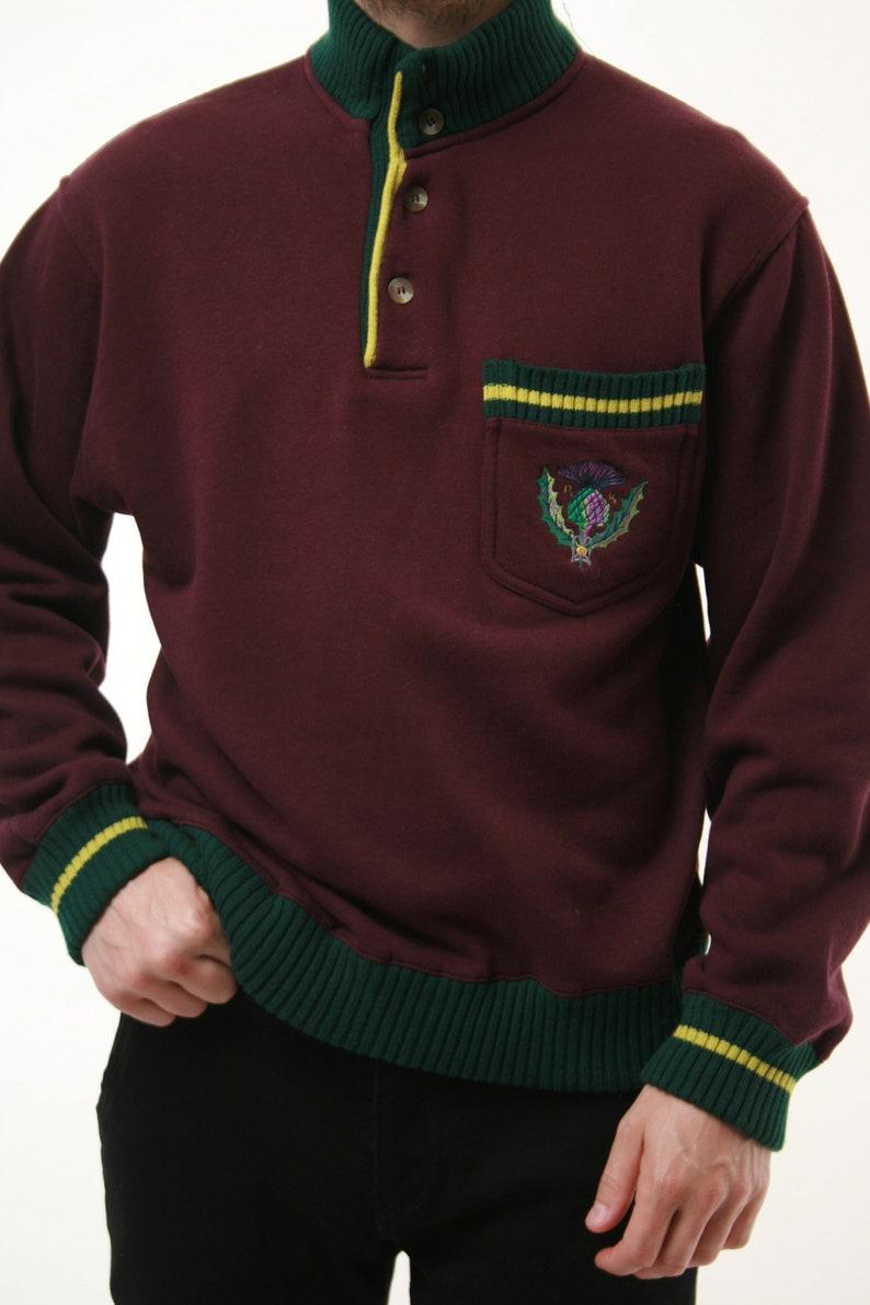 90s Vintage Oldschool Robe di KAPPA Sweatshirt Jumper 14537