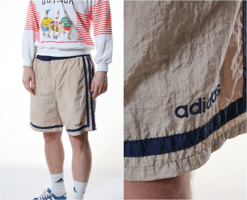 9d11cb16ff227 90s Vintage Adidas Sports Shorts Summer Running 13389