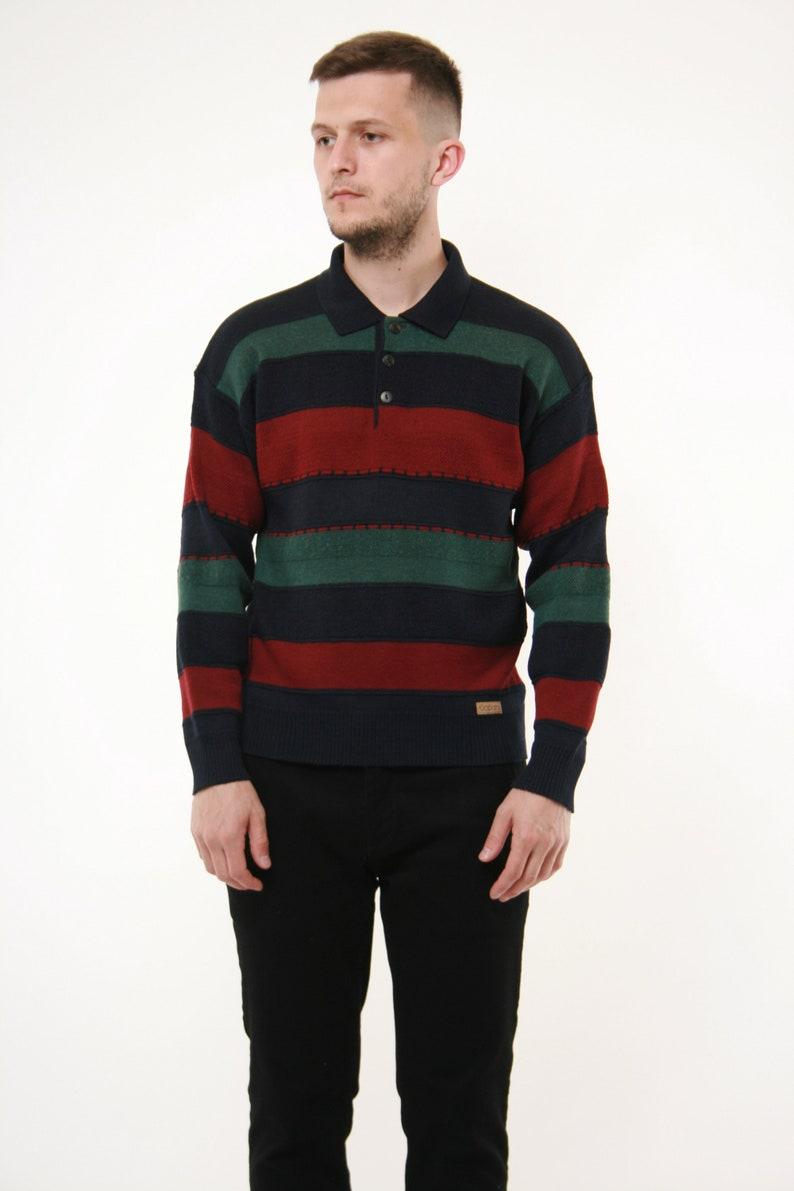 90s Vintage Jockey Oldschool Wool Jumper 14279