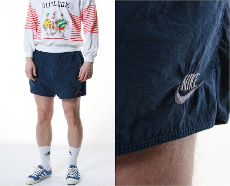 69dcf3e47f2c7 90s Vintage Nike Sports Shorts Logo Running 13294