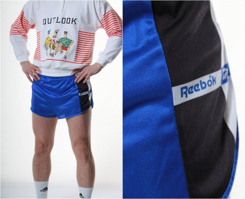 9216c63b37320 90s Vintage Reebok Sports Shorts Logo Running 13293