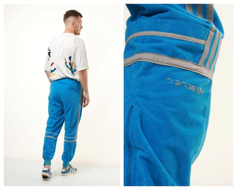 551f358adf3f1 90s Vtg Rare Oldschool Adidas Trousers 14749