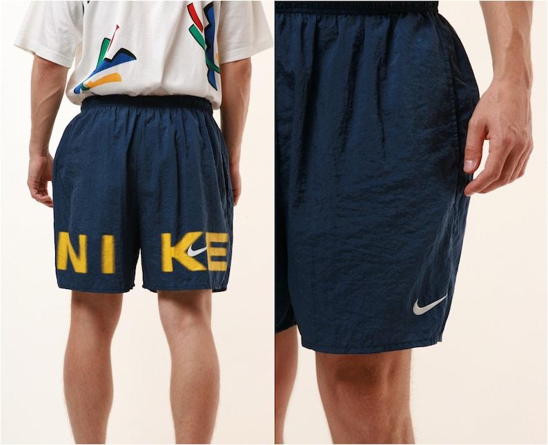 a1a5a8f68a310 90s Vintage Nike Sports Shorts Logo Running 14950