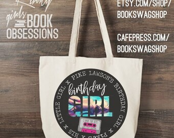 Pike Lawson's Birthday Girl Party Tote