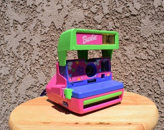 Vintage *Working* Barbie Polaroid Camera