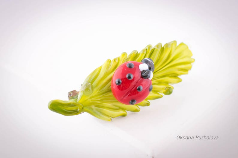 Beetle French Barrette Hair Clip Health & Beauty Hair Care & Styling
