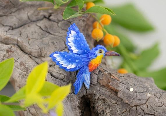 Bird , poppy and butterfly for Jill