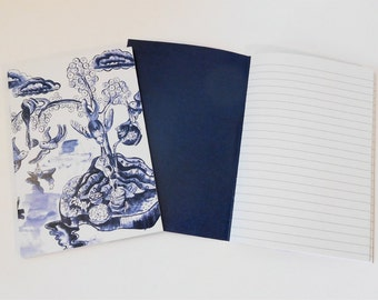 Willow Pattern Inspired A6 Notebook