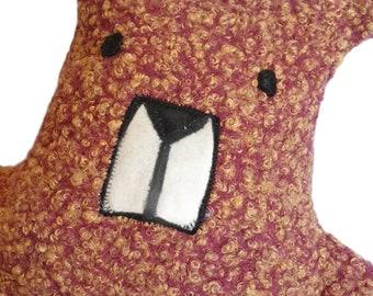Teddy Bear Soft Toy, Modern Handmade, Stuffed Animal, Fabric Soft Toy Bear, Nursery Gift, Baby Gift, Home Living, Birthday, Baby Shower
