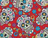 Sugar Skull Cotton