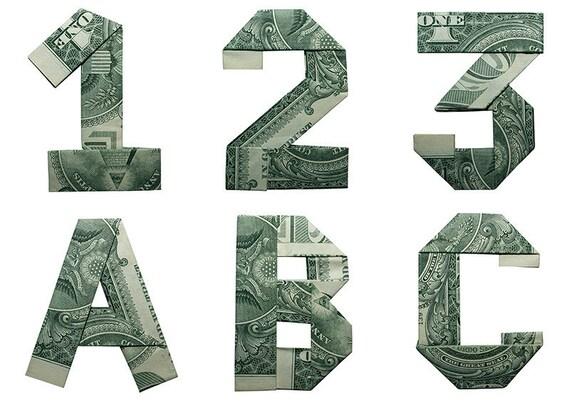 25 Money Origami Tutorials | 3D Dollar Bill Crafts | 403x570