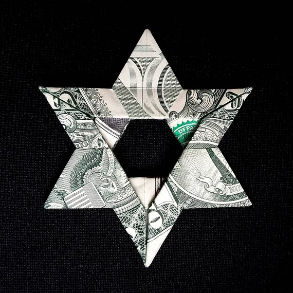 Dollar Origami Star ⭐️ Christmas origami DIY - YouTube | 570x570