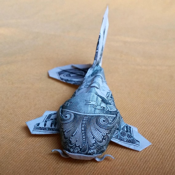 Easy! Dollar origami instructions | Dollar origami, Origami koi ... | 570x570
