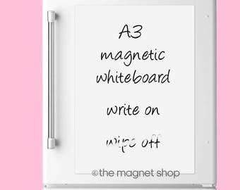 A3 Magnetic Memo Whiteboard by The Magnet Shop®