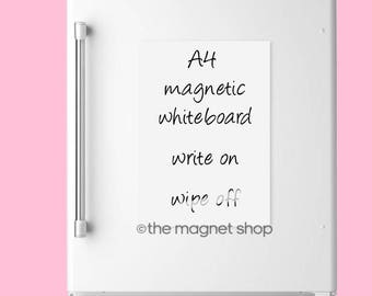 A4 Magnetic Memo Whiteboard by The Magnet Shop®