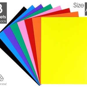 4 Plain A4 0.4mm Thick Magnetic Sheets for Crafts /& Spellbinder Die Storage
