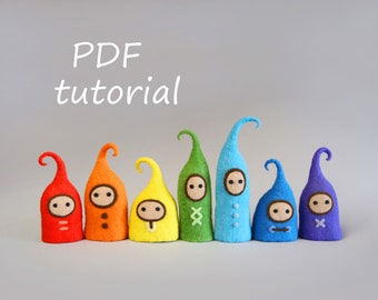 Tutorial for creating rainbow pixies