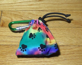 Poop Bag Dispenser Psychedelic w/Biodegradable Bags
