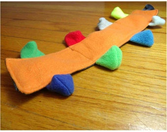 Flat Squeaky Dog Toy
