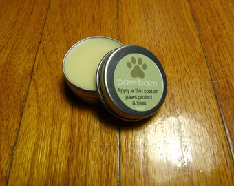 All Natural Dog Paw Balm Travel Size