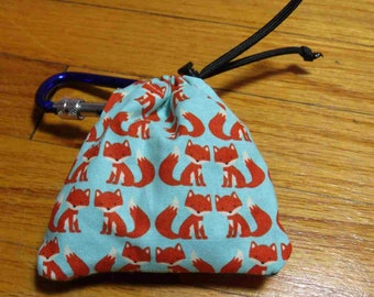 Poop Bag Dispenser Little Fox w/Biodegradable Bags